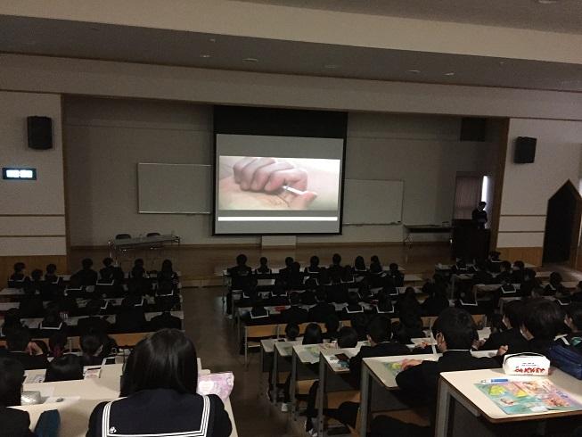 薬物乱用防止教室(釜石高校)