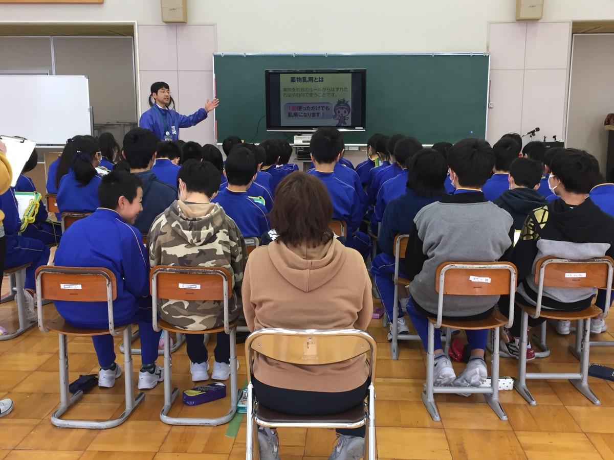 薬物乱用防止活動 小佐野小学校